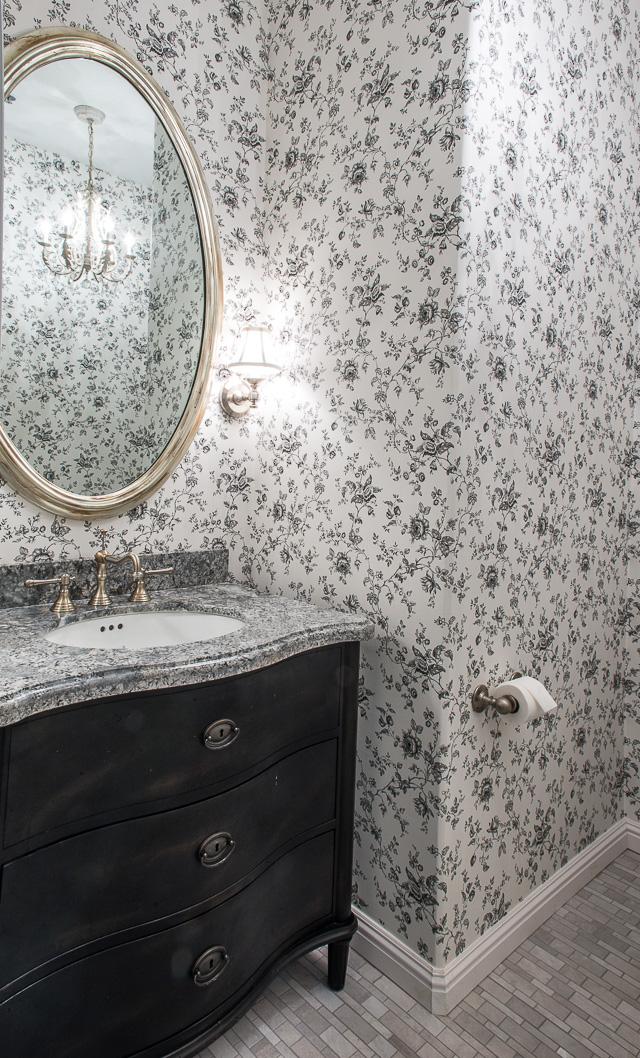 Berry Bathroom Design - San Rafael - Krista Van Kessel Designs